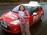 Jenni Sharpe passed with Learn with Tom