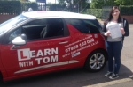 Jodie McMurray passed with Learn with Tom