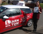 Katherine McAinsh passed with Learn with Tom