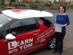 Kelli McAuley passed with Learn with Tom