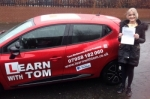 Kelly Connolly passed with Learn with Tom