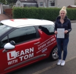 Kerry McGrow passed with Learn with Tom