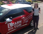 Kimberley Chalmers passed with Learn with Tom
