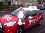 Lacey Whale passed with Learn with Tom