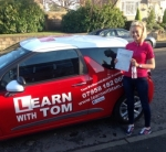 Lauren Yuill passed with Learn with Tom