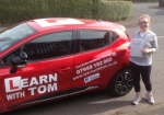 Louise Stewart passed with Learn with Tom