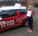 Lyndsay Devlin passed with Learn with Tom