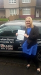 Lynsey Macaloney passed with Learn with Tom