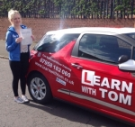 Melanie McAdam passed with Learn with Tom