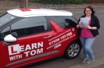 Melissa McGrail passed with Learn with Tom