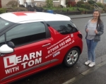 Nikki Stepney passed with Learn with Tom