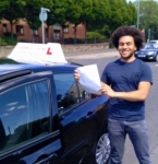 Oliver Seglah passed with Learn with Tom