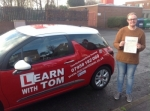 Ross Bennett passed with Learn with Tom