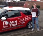 Ryan Shearer passed with Learn with Tom
