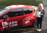 Sarah Sandlan passed with Learn with Tom