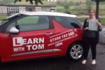 Stephanie Chalmers passed with Learn with Tom