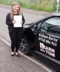 Stephanie McNairn passed with Learn with Tom