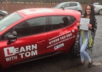 Taylor Weldon passed with Learn with Tom