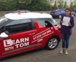Vineeta Grewal passed with Learn with Tom