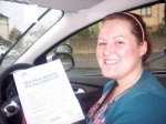 Zoe Halliday passed with Learn with Tom