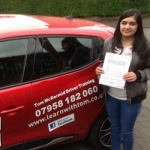 Aleena Zafar passed with Learn with Tom