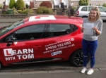 Caitlin Martin passed with Learn with Tom