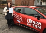 Carrie Lamont passed with Learn with Tom