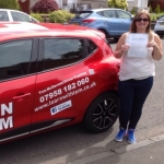 Christine Doughty passed with Learn with Tom