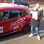 Claire Thomson passed with Learn with Tom