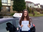 Emily Fardy passed with Learn with Tom