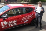 Jennifer Scambler passed with Learn with Tom