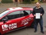 Johnny Donnelly passed with Learn with Tom