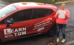 Karen Anderson passed with Learn with Tom