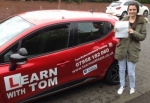 Kirsty Clark passed with Learn with Tom