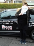 Laura MacLean - 15th March 2017 passed with Learn with Tom