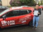 Lauren Stewart passed with Learn with Tom