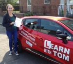 Lisa Crossley passed with Learn with Tom