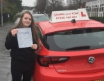 Lynsay Doran - 16th March 2017 passed with Learn with Tom