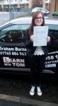 Michaela Martin passed with Learn with Tom