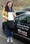 Rachael Firth - 21st Feb 2017 passed with Learn with Tom