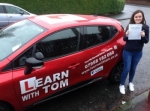 Rachel Hannah passed with Learn with Tom