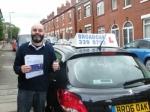 Nigel from Ashton-under-lyne passed with Broadoak School Of Motoring