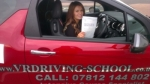 Bethany Butler passed with VR Driving School