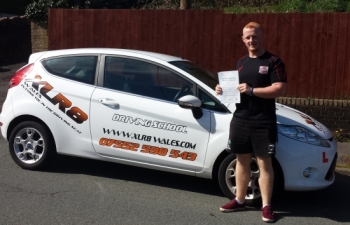 1.4.14 - Congratulations to Garin Jones who passed his driving test on April Fools day.... what a result!! :-)...