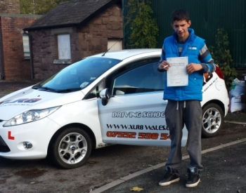 Well Done to Alex from Newbridge for passing his driving test in Abergavenny with only 4 minors and only 24 hours of lessons!!! What a result... Fifi will NOT miss those daily mountain treks up to the farm! Drive Safe in your new little Corsa!...
