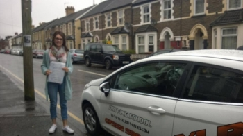 04.06.14 Big congratulations to Alexandra Owen on passing her driving test in Merthyr Tydfil with only 2 faults, we all knew you could do it, fab result sweetie!! ...