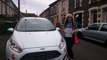 1.10.15 - Congratulations to Amy Pearl Potter on passing her test this afternoon in Merthyr Tydfil with only 4 faults. Good luck car shopping and enjoy your weekend away :-)...