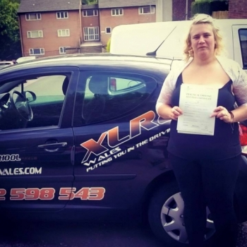 24.6.15 - A big well done to Angeline who passed her driving test today in Abergavenny with ZERO minors. Absolutely flawless, congratulations Angeline...