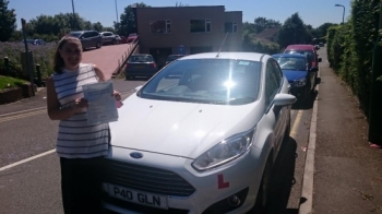 19.7.16 - Congratulations to Claire Taylor on passing her test today in Merthyr Tydfil looking forward to seeing you out and about in Bargoed in your new car...
