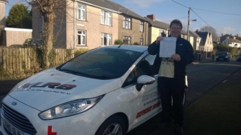 24.12.14 - Congratulations to Gareth Brace on passing his test at Pontypridd first time!! Happy Driving!!...